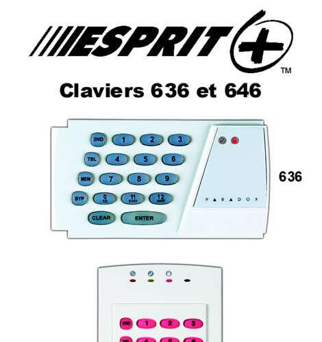 Clavier 636 et 646
